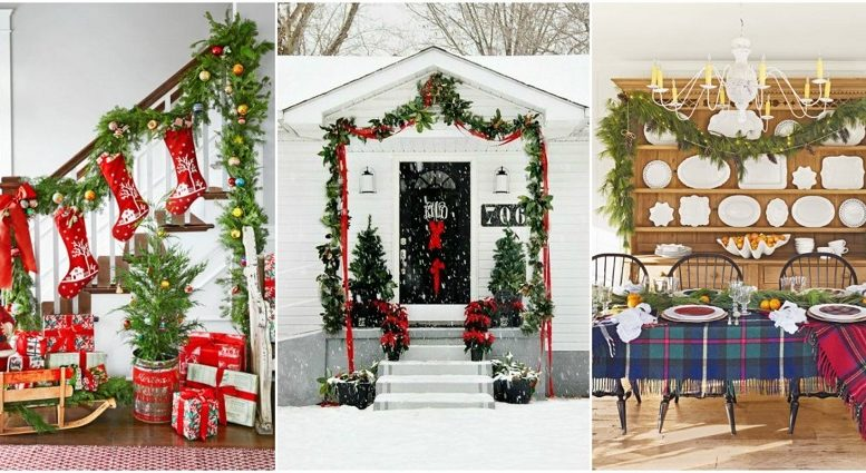 5 Great Ideas To Decorate Your Home With Christmas Garlands