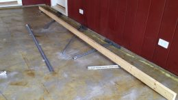 how to level a sloping concrete floor