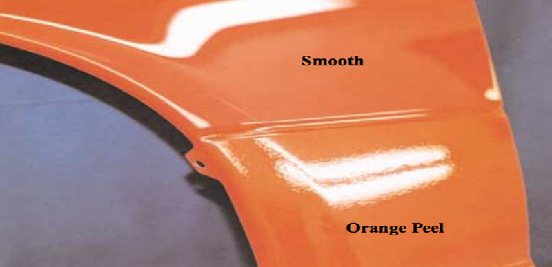 orange peel in paint