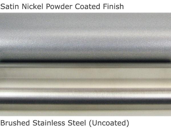 Satin nickel vs Brushed nickel
